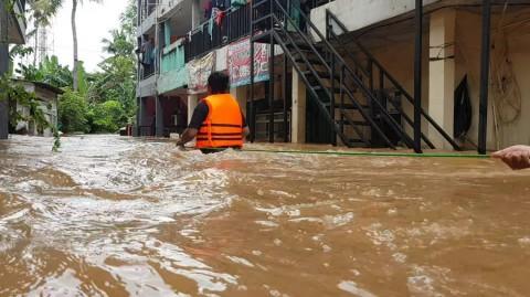 5 Kelurahan Rawan Banjir di Jakarta Dipasangi Plang