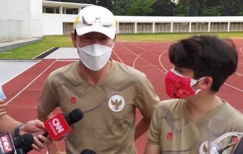 Timnas Indonesia Latihan Perdana Porsi Ringan