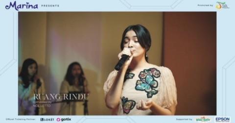 Mawar de Jongh Melepas Rindu di Konser Virtual