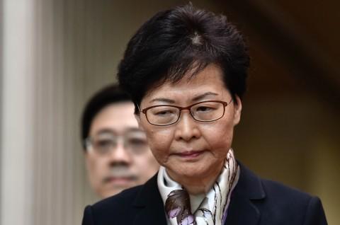 AS Jatuhkan Sanksi ke Pemimpin Eksekutif Hong Kong