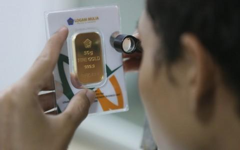 Emas Antam Pamer Kemilau Sepanjang Pekan