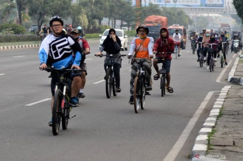 Jalur Sepeda Sudirman-Thamrin Tetap Dibuka