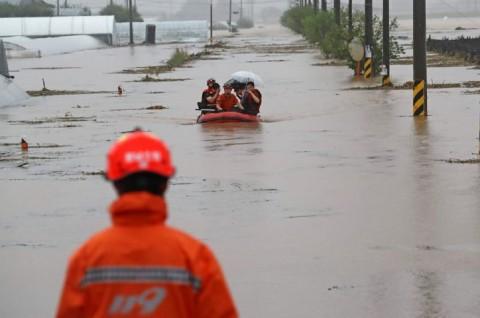 Banjir dan Longsor di Korsel Tewaskan 30 Orang