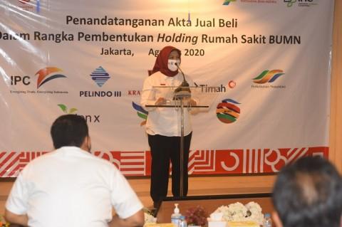 Pendapatan Usaha Holding RS BUMN Diproyeksi Capai Rp4,5 Triliun