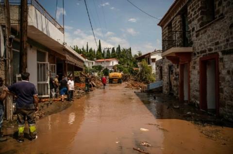 Lima Orang Tewas dalam Badai Thalia di Yunani