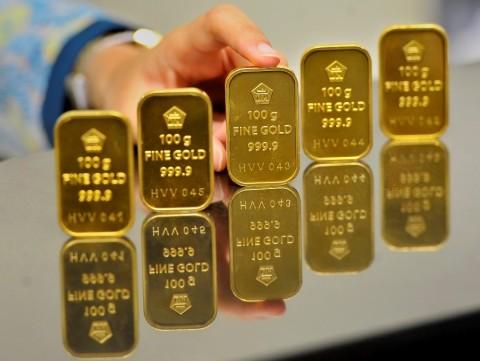 Masih di Level Sejuta, Harga Emas Antam Turun Rp1.000/Gram