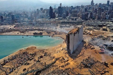 Korsel Kirim Masker dan Kebutuhan Pokok ke Lebanon