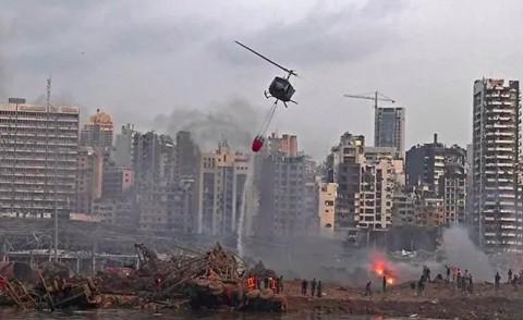 Korban Tewas Ledakan Beirut Meningkat Jadi 200 Orang