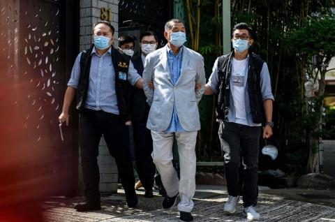 AS Kecam Penahanan Taipan Pro-Demokrasi Hong Kong