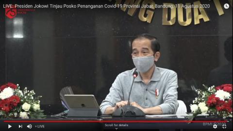 Jokowi Optimistis Perekonomian Indonesia Membaik di Kuartal III