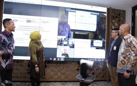 Mandiri Syariah dan BTN Sinergi Keuangan Syariah