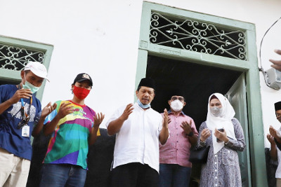 Machfud Arifin Hidupkan Kembali Cagar Budaya Langgar Gipo