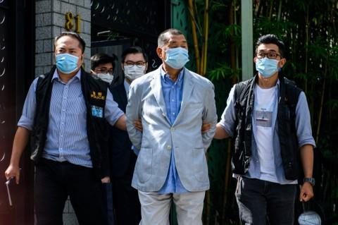 Tiongkok Sebut Taipan Pro-Demokrasi Hong Kong Berbahaya