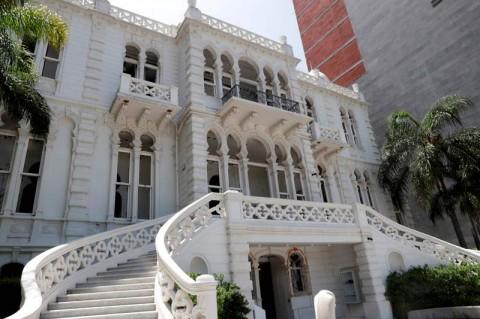 Kondisi Bangunan Bersejarah di Beirut Usai Ledakan
