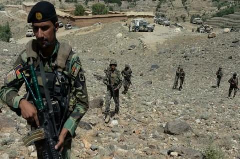 Delapan Polisi Afghanistan Tewas Diserang Taliban