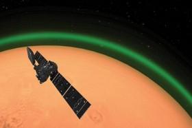 Cahaya Hijau Terdeteksi di Mars