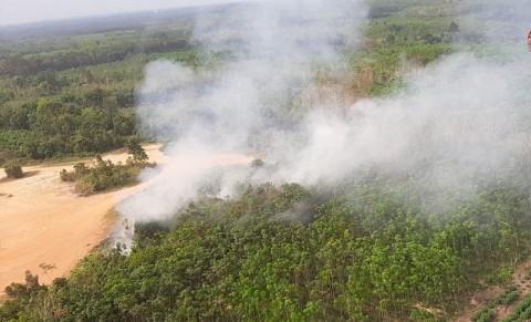 40 Ton Garam Disemai untuk Hujan Buatan di Sumsel