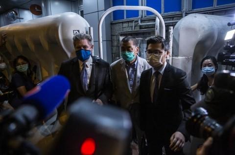 Taipan Pro-Demokrasi Hong Kong Dibebaskan
