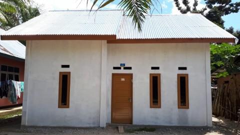 Pemerintah Perbaiki Ratusan Rumah Tak Layak Huni