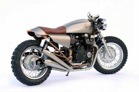 CB750 Nighthawk Cafer Racer Garapan Iconic Moto