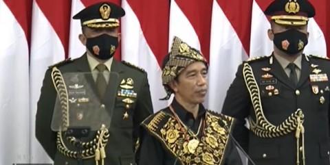 Live: Jokowi Berambisi HUT ke-100 RI Indonesia Jadi Negara Maju