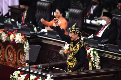 Jokowi Kenakan Baju Adat Sabu di Sidang Tahunan MPR