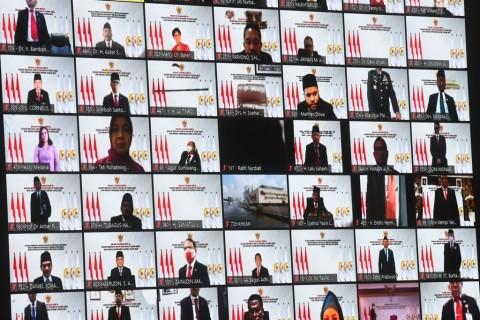 Artis Ikuti Sidang Tahunan MPR RI, Mulan Jameela & Krisdayanti Hadir Secara Virtual