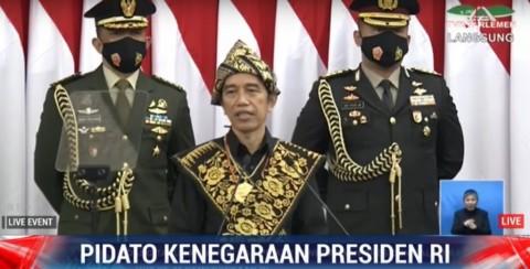 Tiga Pesan Penting Jokowi di Sidang Tahunan MPR