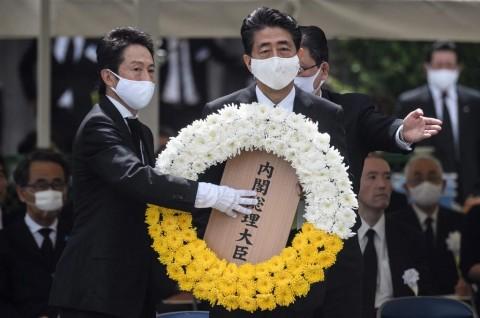 PM Abe Suarakan Konsistensi Jepang terhadap Perdamaian Global