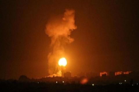 Israel Lanjutkan Serangan di Gaza atas Balon Api