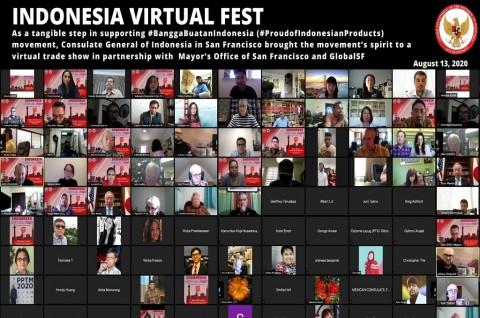 KJRI San Francisco Gelar Pameran Dagang Virtual Perdana