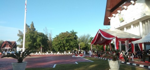 Upacara Hari Kemerdekaan di Aceh Berlangsung Lengang