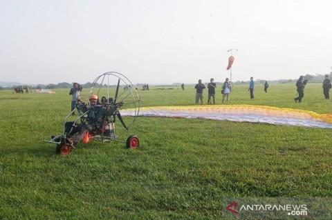 Pengibaran Bendera Tertinggi di Lanud Atang Senjaya Pecahkan Rekor