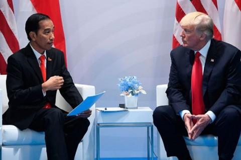 Trump Ucapkan Selamat HUT ke-75 RI kepada Jokowi