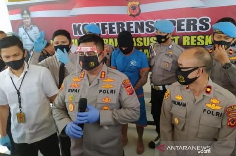 Terduga Pelaku Pembacokan Anggota Sabhara Polres Cianjur Ditangkap