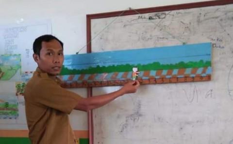 #BangkitDari Pandemi, Kisah Kiswanto Mengajar Daring di Daerah Transmigrasi