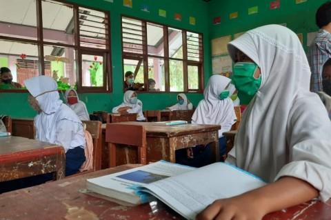 SD dan SMP di Serang Mulai Belajar Tatap Muka