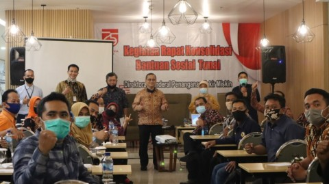 Sukseskan Penyaluran BST di Tengah Pandemi, Ditjen PFM Rapat Konsolidasi