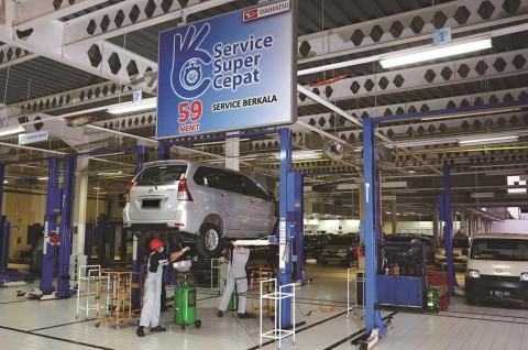 Daihatsu Terapkan Servis Mobil Drive-Thru