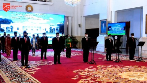 17 Anggota Konsil Kedokteran Indonesia Dilantik