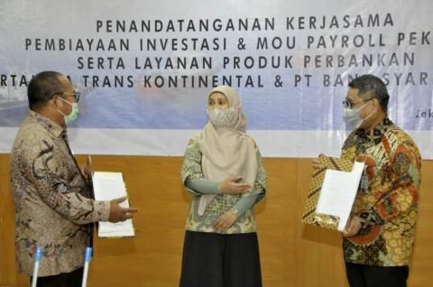 Mandiri Syariah Fasilitasi Layanan Perbankan Pertamina Trans Kontinental