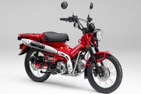 Menelisik Spek Bebek Petualang Honda CT125