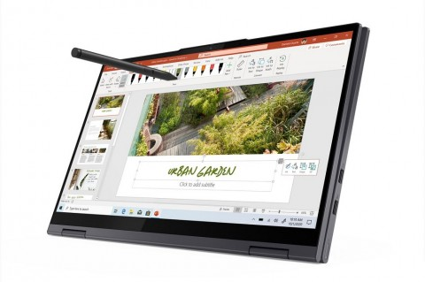 Laptop Lenovo Yoga Siap Pasang Prosesor Intel dan AMD Terbaru