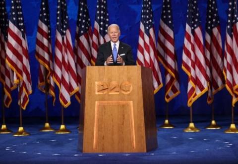 Janji Biden Akhiri Kegelapan AS di Bawah Kepemimpinan Trump