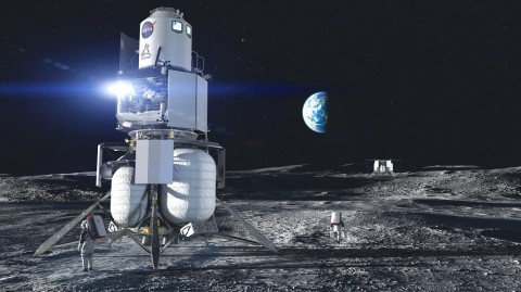 Blue Origin Kirim Prototipe Wahana Pendaratan di Bulan