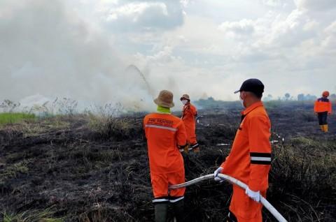 3 Hektare Lahan di Ogan Ilir Terbakar