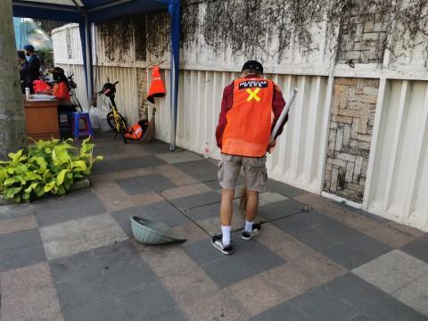 20 Pelanggar PSBB di Sudirman-Thamrin Ditindak