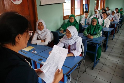 Kemendikbud Akui Dilema Memutuskan Membuka Sekolah