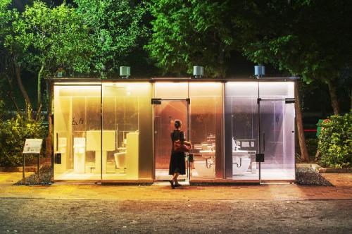 Proyek Toilet Tokyo rencananya akan merenovasi 17 toilet di taman umum Shibuya. (Foto: Dok.Shigeru Ban/Nippon-foundation.or.jp)