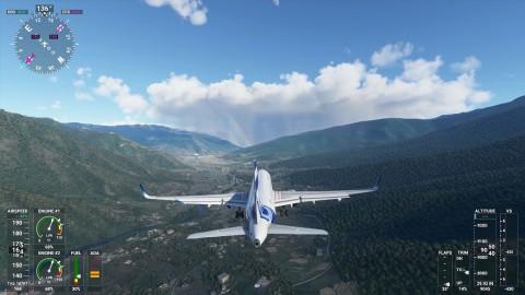 Microsoft Flight Simulator 2020 Tuju Konsol